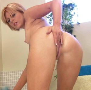 Mature anal solo