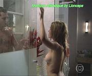 Monique Alfradique em topless na serie Na Forma da Lei
