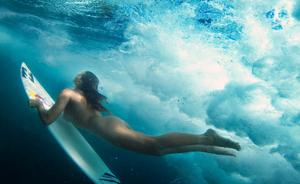 Майя Gabeira, фото 15. Maya Gabeira ESPN The Magazine's Body Issue 2012 - Nude Surfing, foto 15