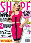 Elisha Cuthbert - Shape magazine February 2012