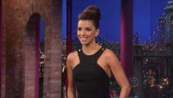 Eva Longoria - Late Show With David Letterman 5/10/12