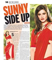 ����� �����, ���� 1665. Sunny Leone Gulf News' Tabloid! Magazine February 27, 2012, foto 1665